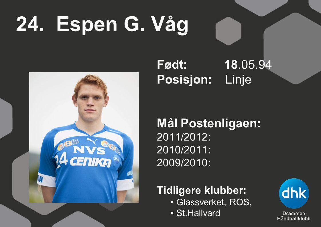 24. Espen G.