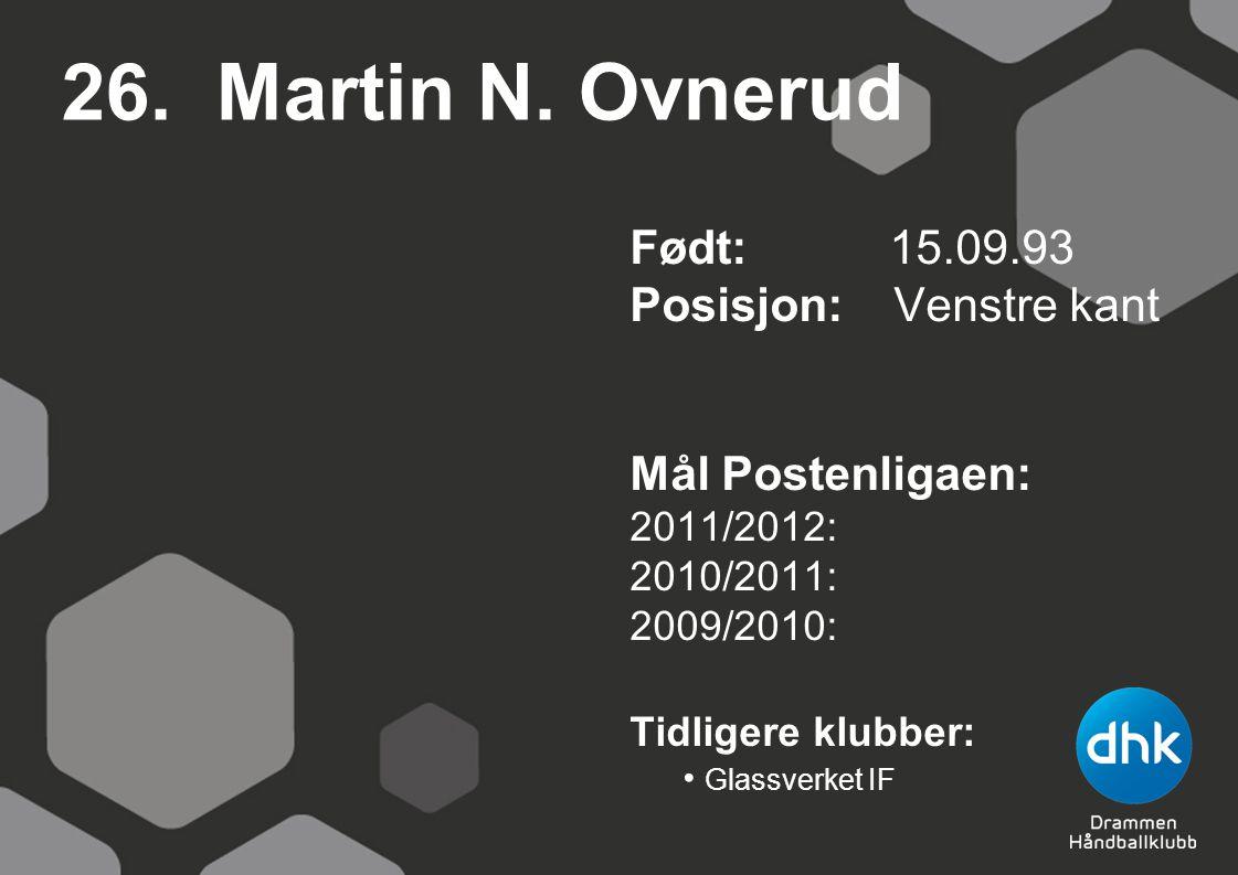 26. Martin N.