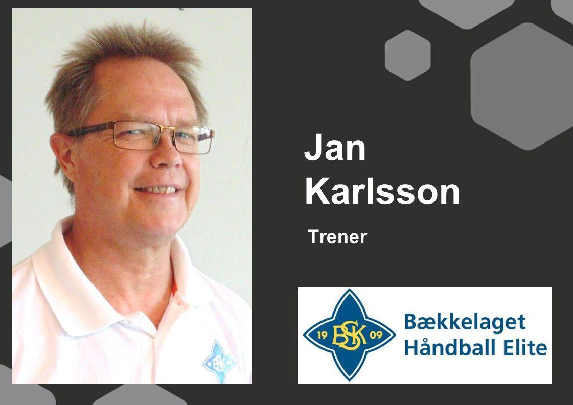 Trener Jan Karlsson