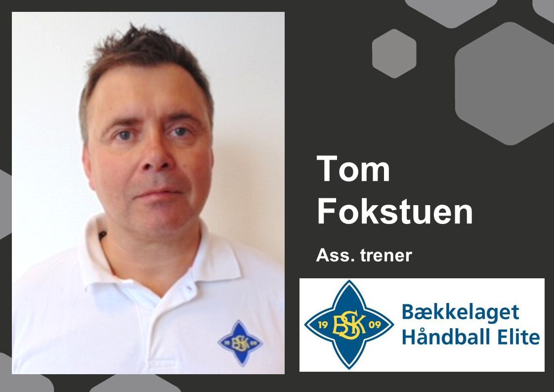 Ass. trener Tom Fokstuen