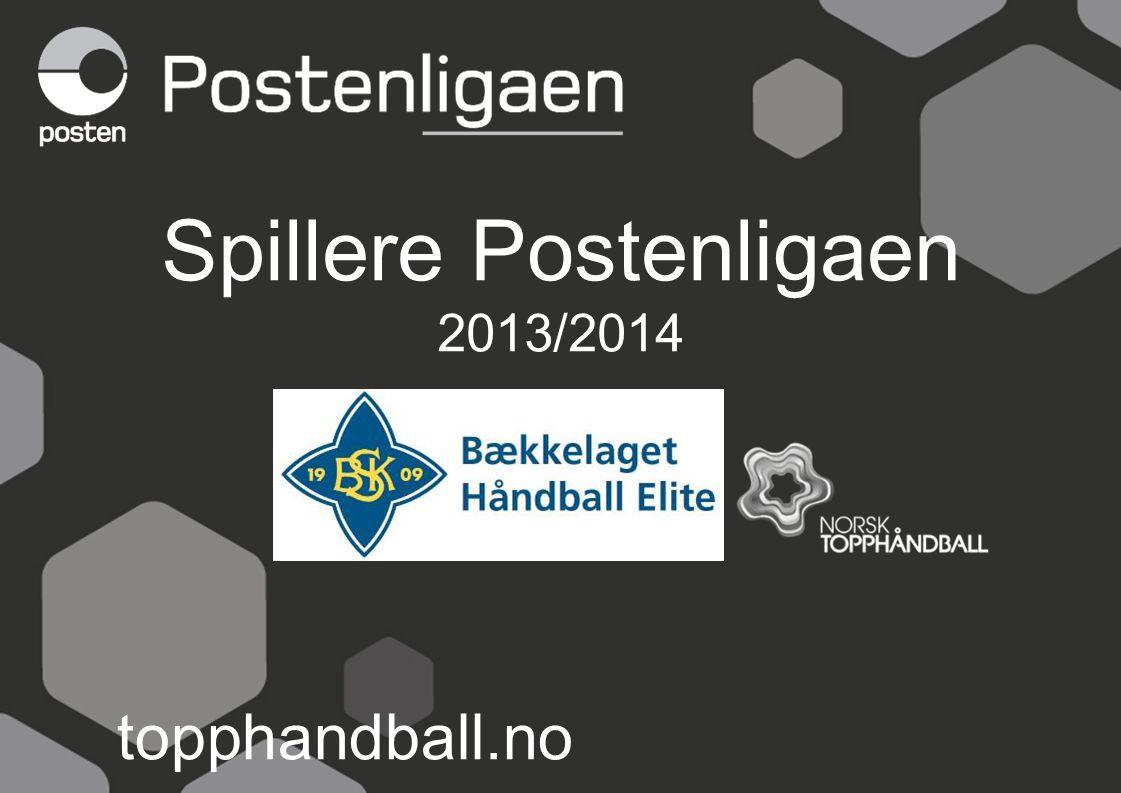 Spillere Postenligaen 2013/2014 topphandball.no