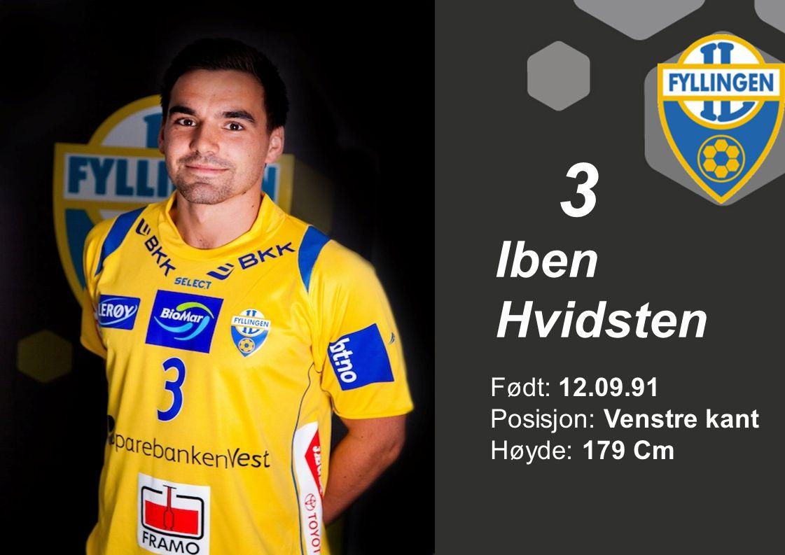 4 Trym Bilov Olsen Født: 30.07.89 Posisjon: Midtback Høyde: 181 cm