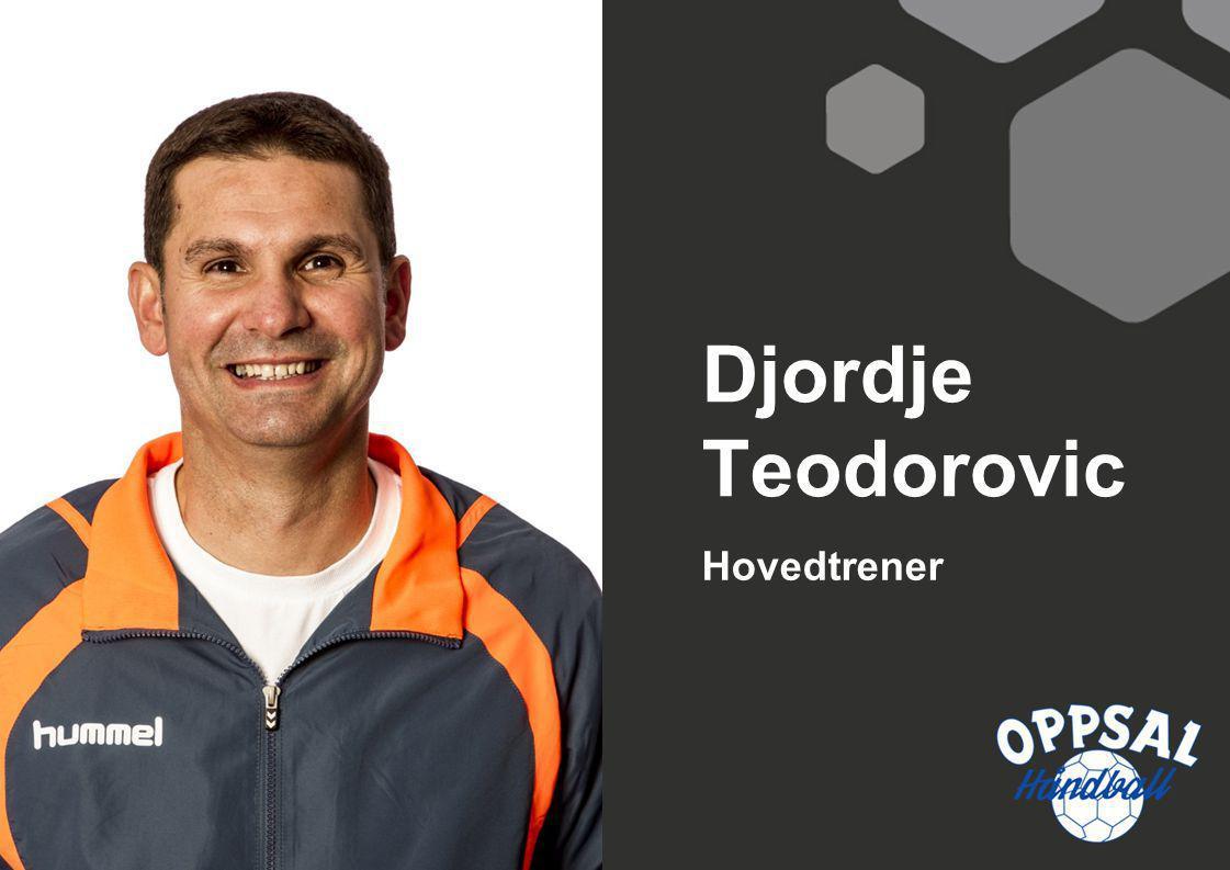 Hovedtrener Djordje Teodorovic