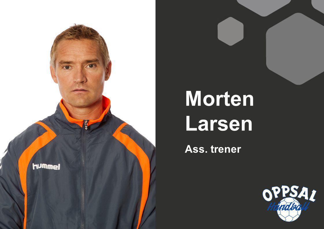 Ass. trener Morten Larsen