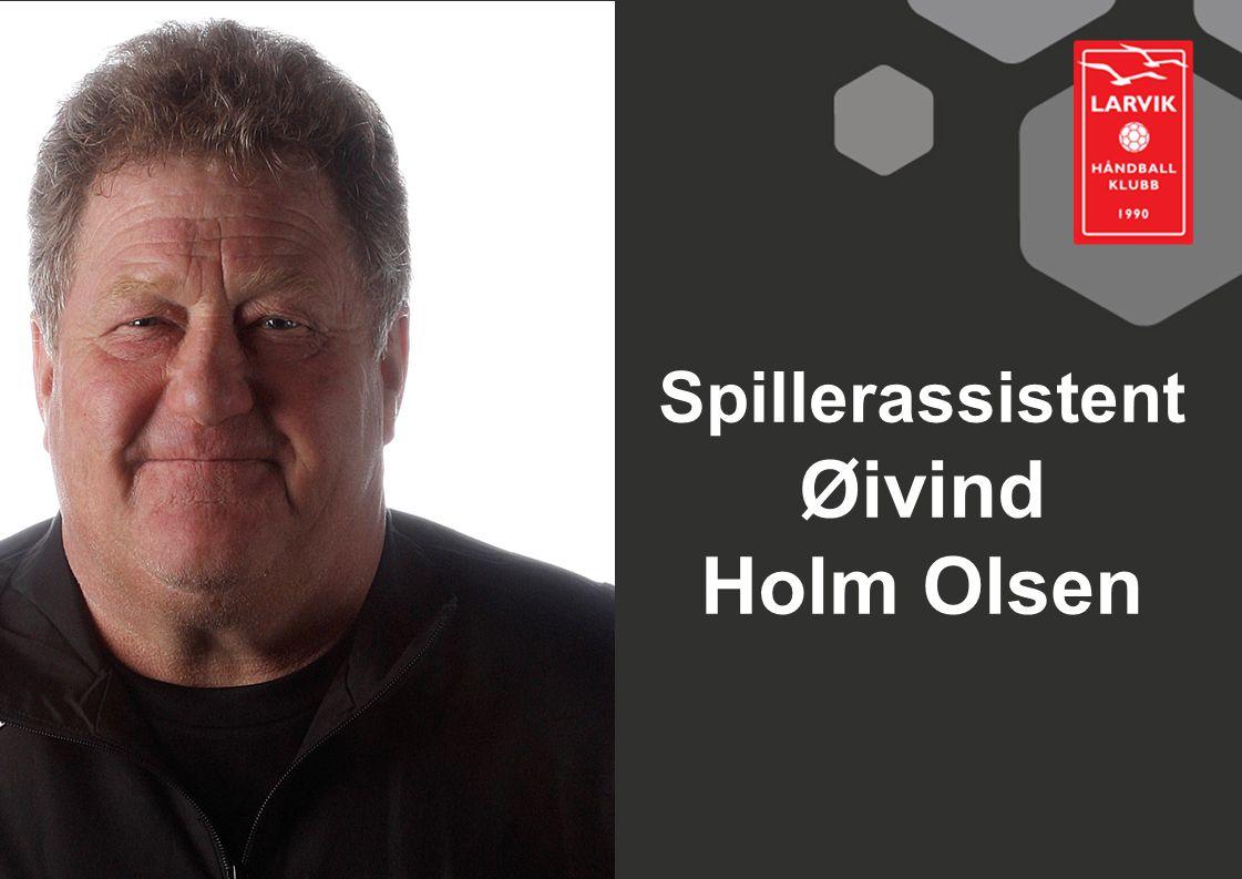 Spillerassistent Øivind Holm Olsen