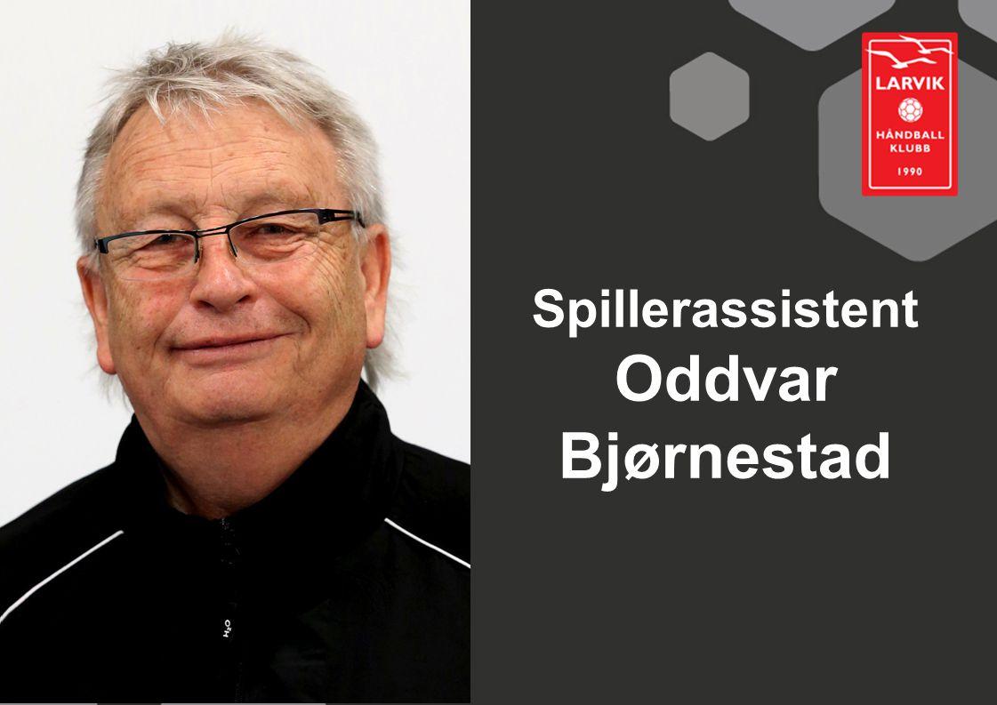 Spillerassistent Oddvar Bjørnestad