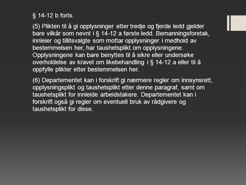 § 14-12 b forts.