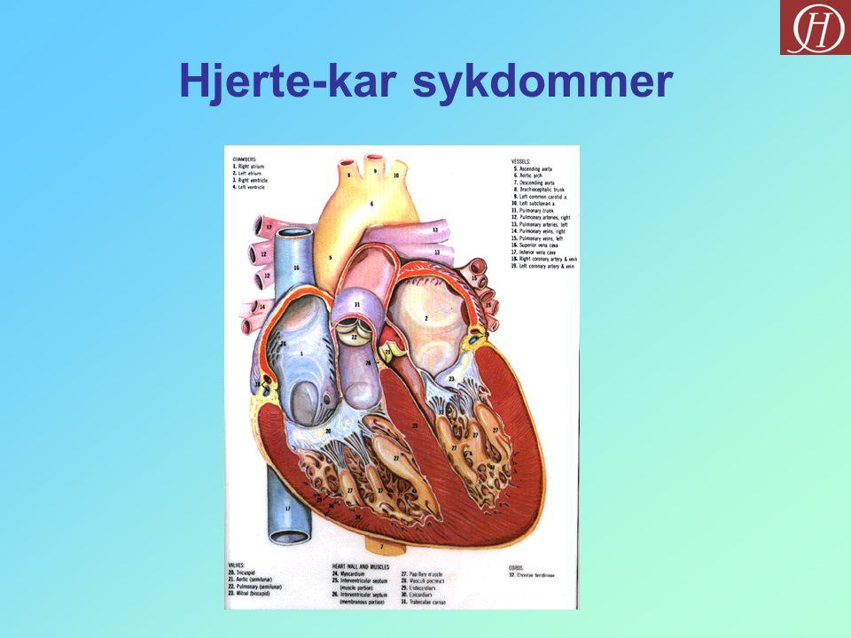 Hjerte-kar sykdommer