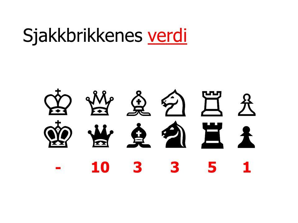 Sjakkbrikkenes verdi - 103351
