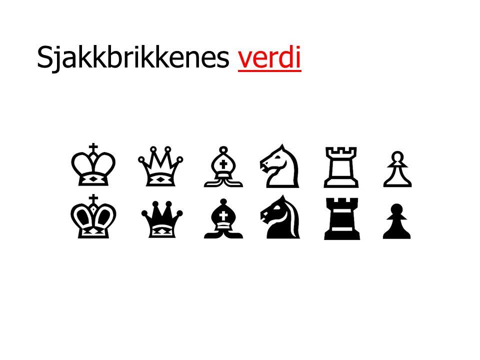 Sjakkbrikkenes verdi