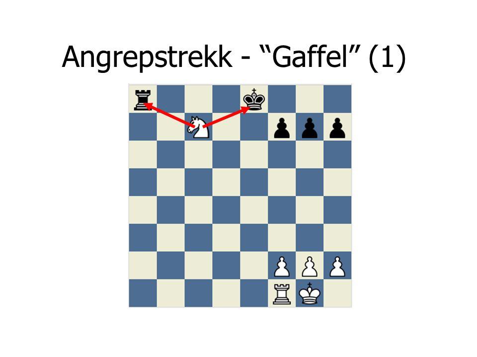 """Angrepstrekk - """"Gaffel"""" (1)"""