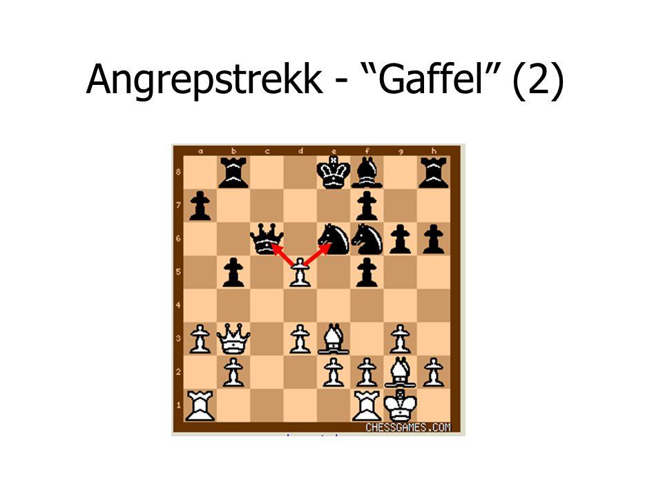 """Angrepstrekk - """"Gaffel"""" (2)"""