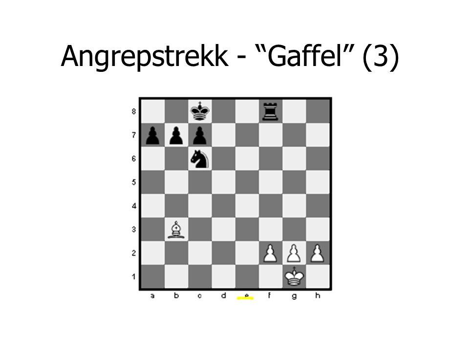 """Angrepstrekk - """"Gaffel"""" (3)"""