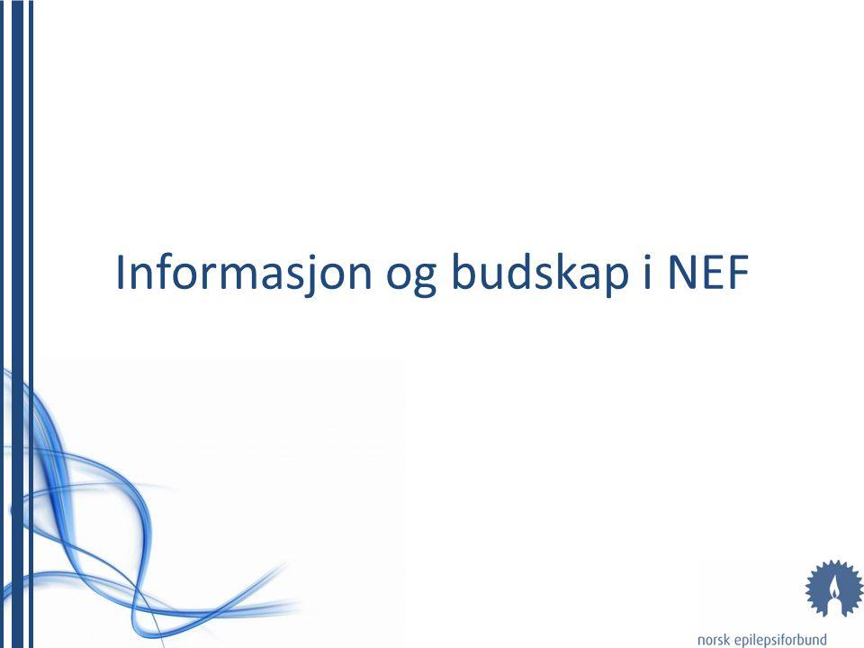 Informasjon og budskap i NEF