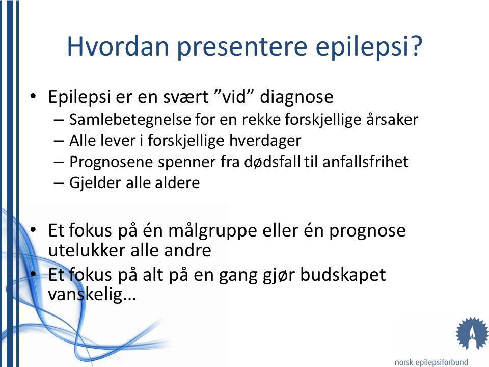 Hvordan presentere epilepsi.