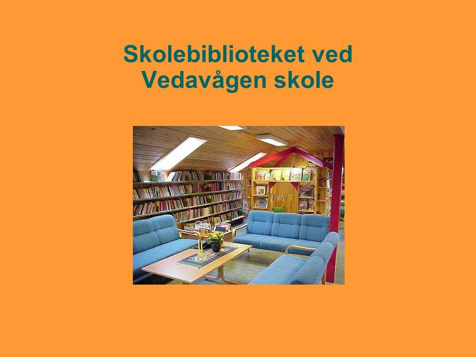 Skolebiblioteket ved Vedavågen skole