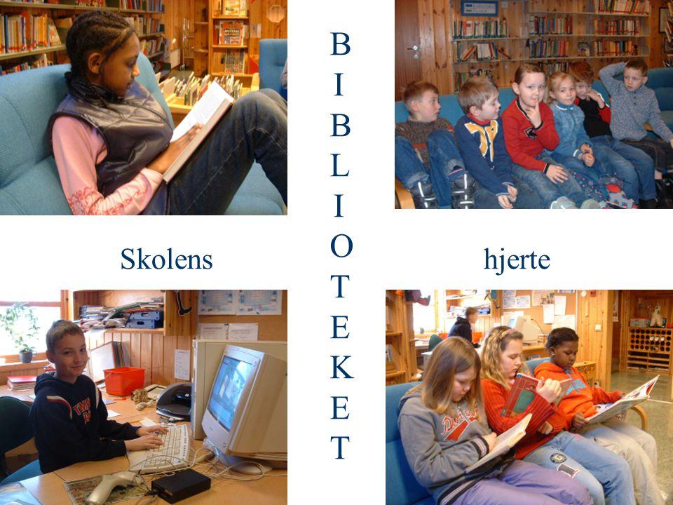 Skolenshjerte BIBLIOTEKETBIBLIOTEKET