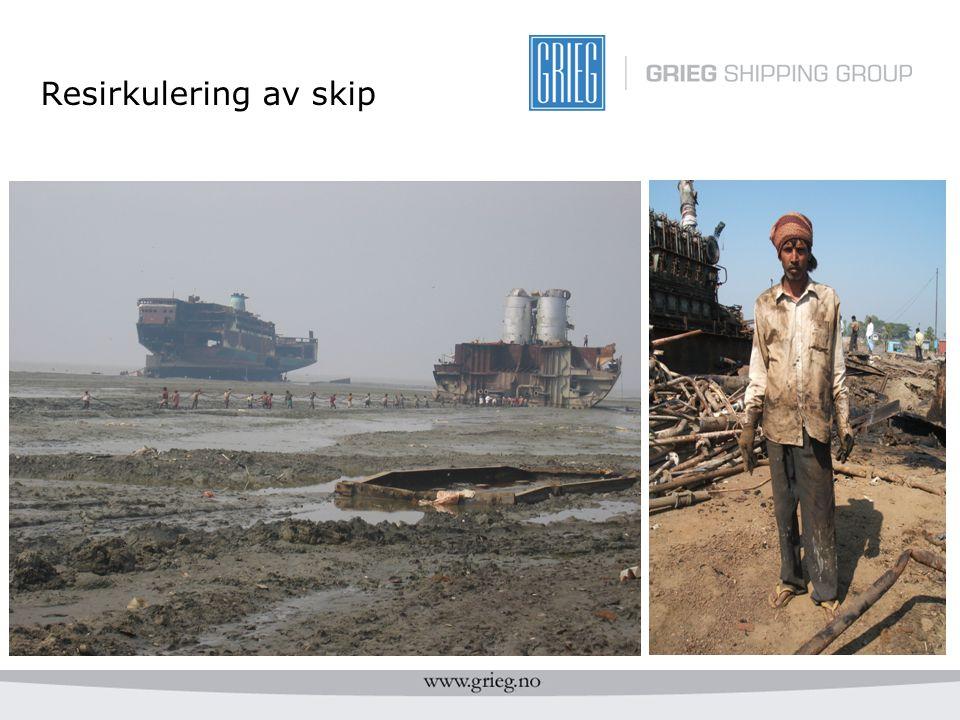 Resirkulering av skip