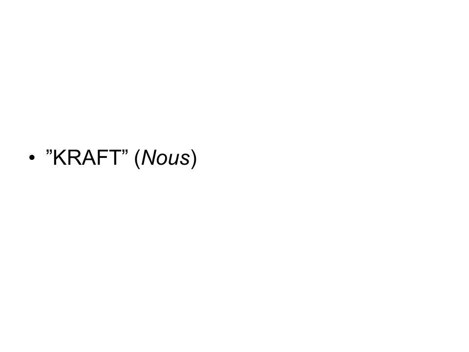 """KRAFT"" (Nous)"