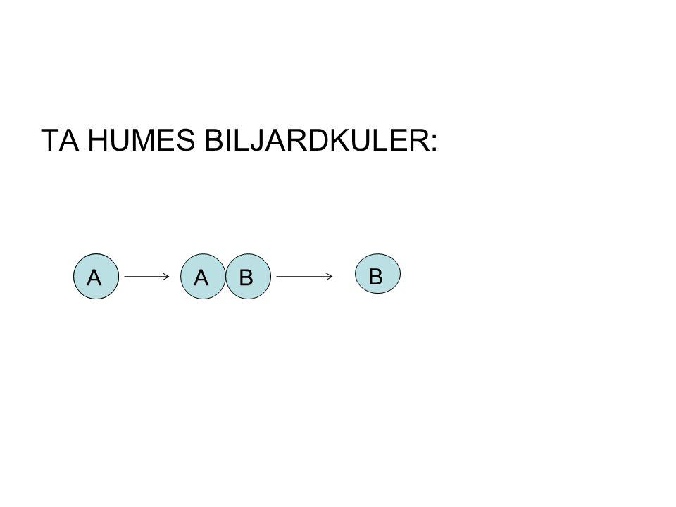 TA HUMES BILJARDKULER: AAAB B