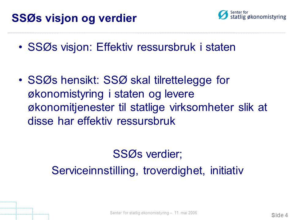 Side 4 Senter for statlig økonomistyring – 11.