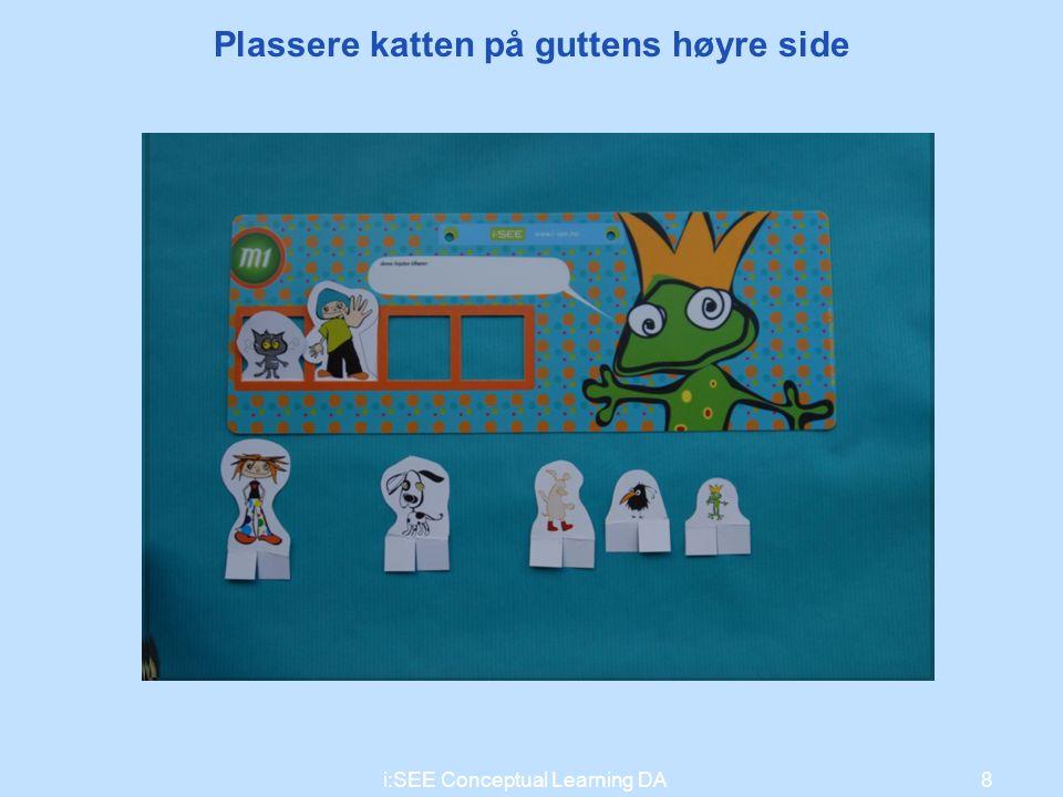 Du har jo satt sekstallet på feil plass! 8i:SEE Conceptual Learning DA Plassere katten på guttens høyre side