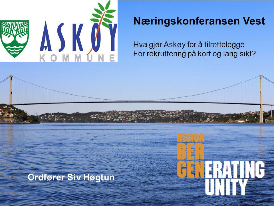 Næringskonferansen Vest Hva gjør Askøy for å tilrettelegge For rekruttering på kort og lang sikt.