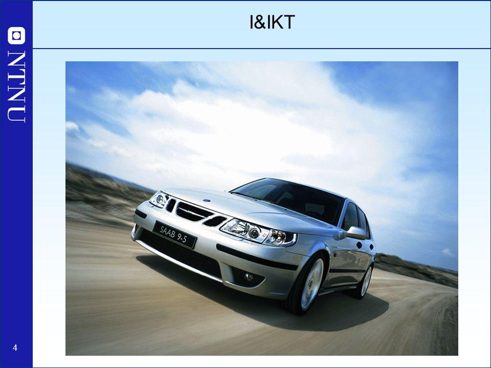 15 I&IKT - starten Første kull av tatt opp i 2002 (ca.
