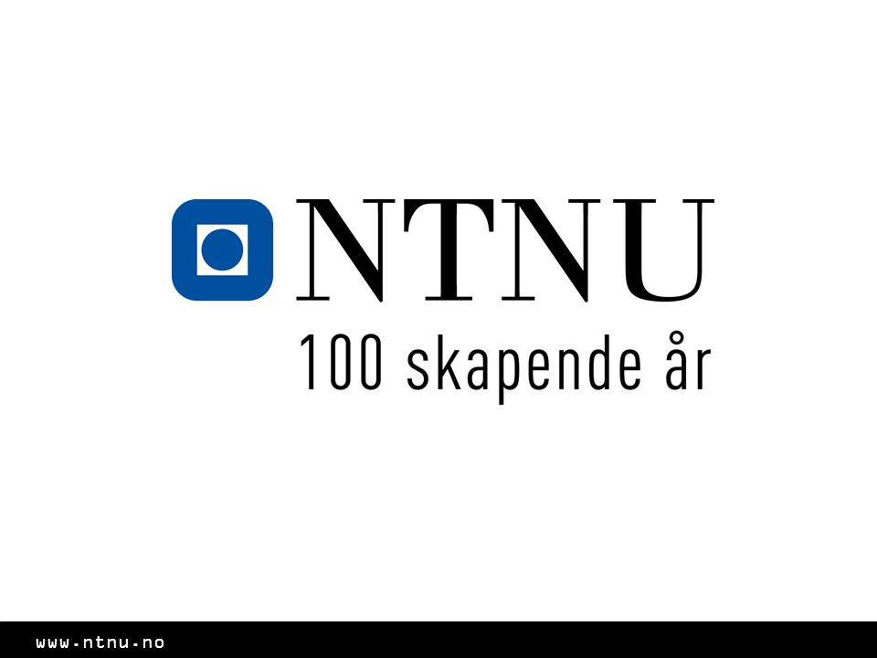 www.ntnu.no Øvinger og eksamenslesing