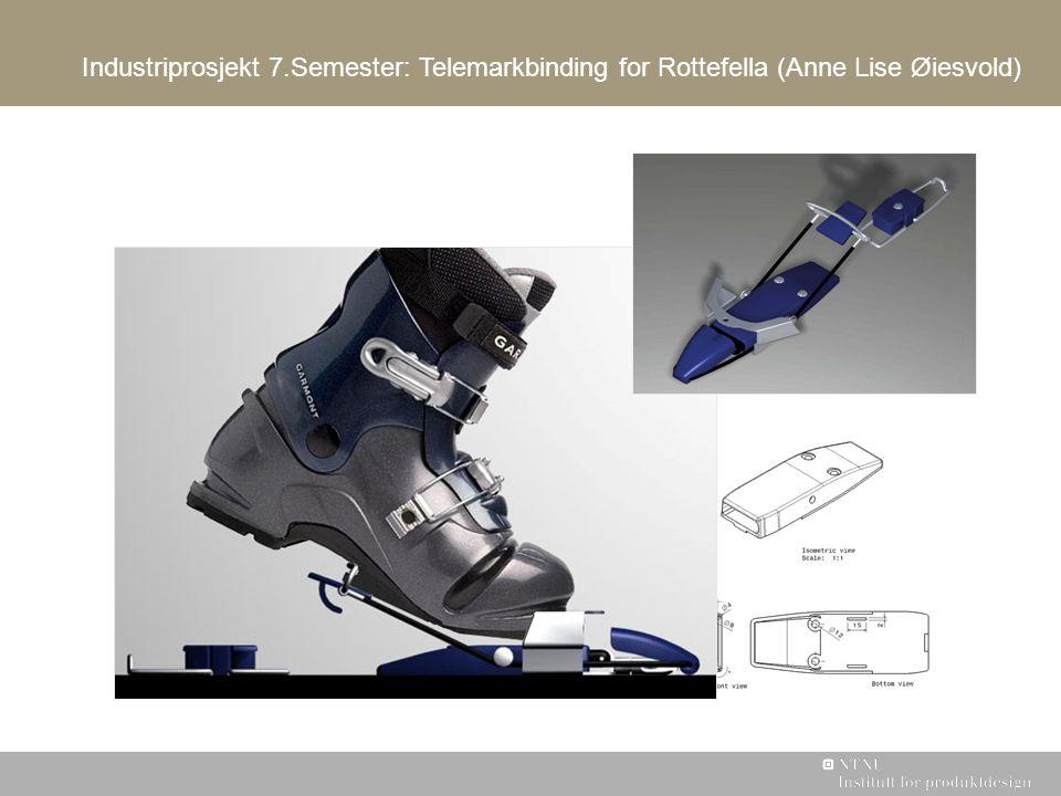 Industriprosjekt 7.Semester: Telemarkbinding for Rottefella (Anne Lise Øiesvold)