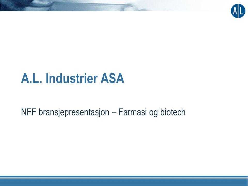 A.L. Industrier ASA NFF bransjepresentasjon – Farmasi og biotech