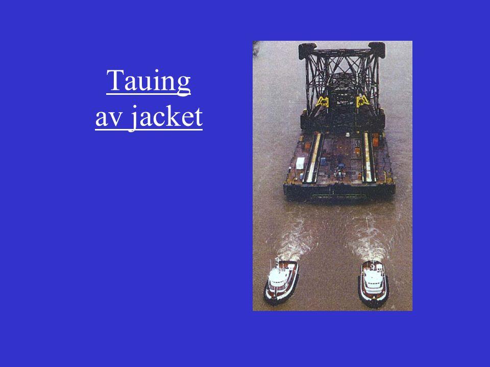 Tauing og installasjon av jacket