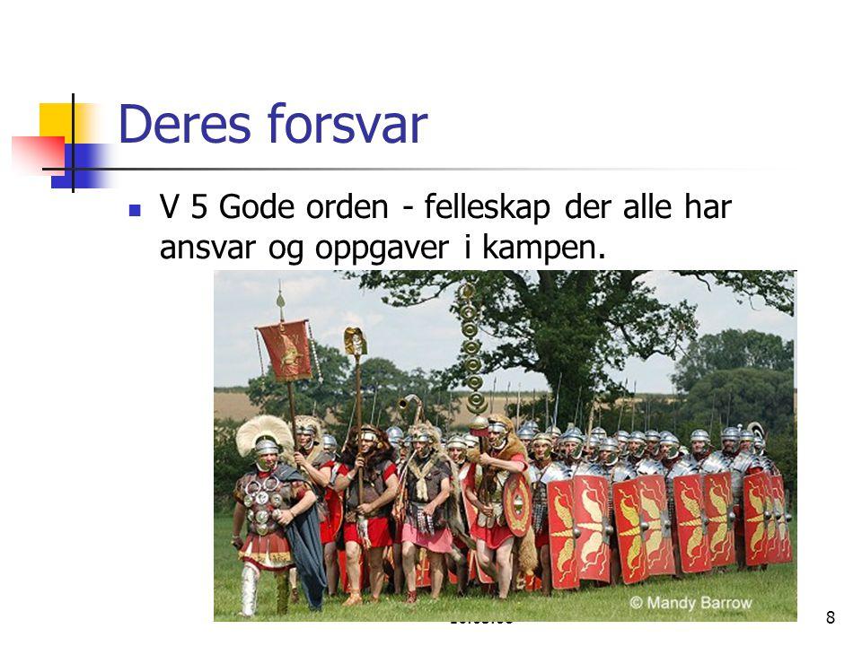 Eivind Rognsvåg Godt Håp 16.03.0819 Den beste måten å parere falsk lære: I Ham V 10 Og i ham er dere blitt fylt, han som er hodet for enhver makt og myndighet.