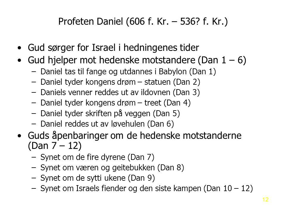 Profeten Daniel (606 f.Kr. – 536. f.