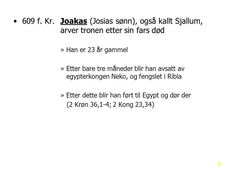 Profeten Esekiel – hvem er han.