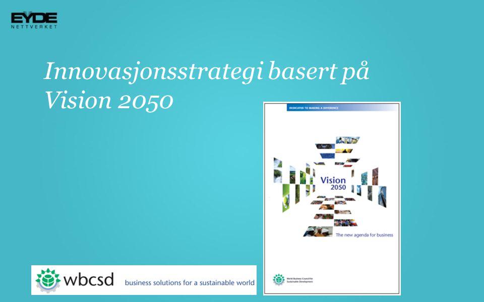 Innovasjonsstrategi basert på Vision 2050