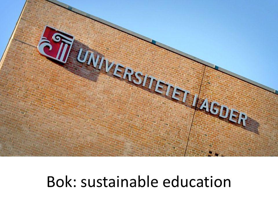 Bok: sustainable education