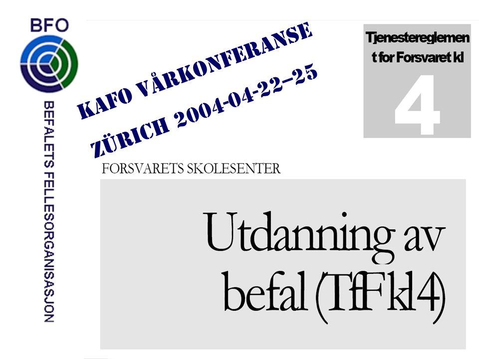 Først en presentasjon av TfF kl 4… …så litt om arbeidet med TfF kl 4 og hvordan KAFO kan bidra.