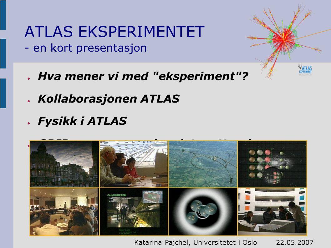 ● Hva mener vi med eksperiment .