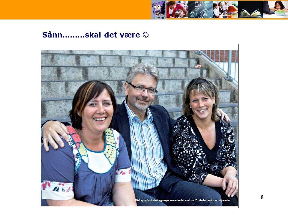 Kommunalt foreldreutvalg for grunnskolen i Kristiansand 20098 Sånn………skal det være