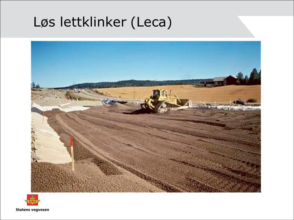 Løs lettklinker (Leca)
