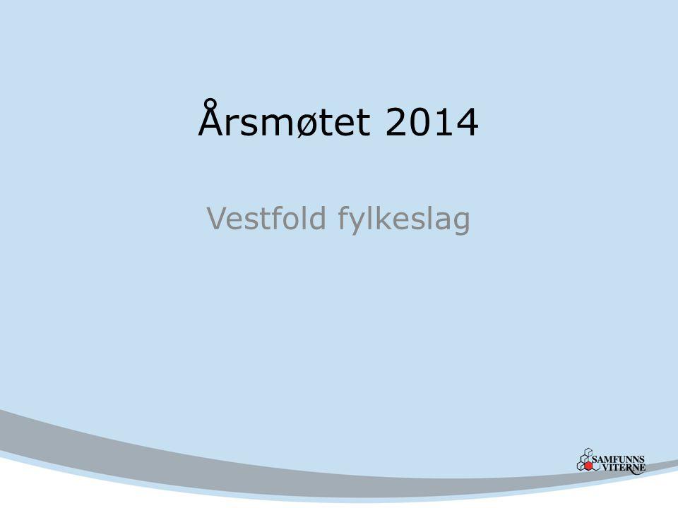 Årsmøtet 2014 Vestfold fylkeslag