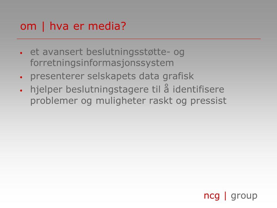 ncg | group om | hva er media.