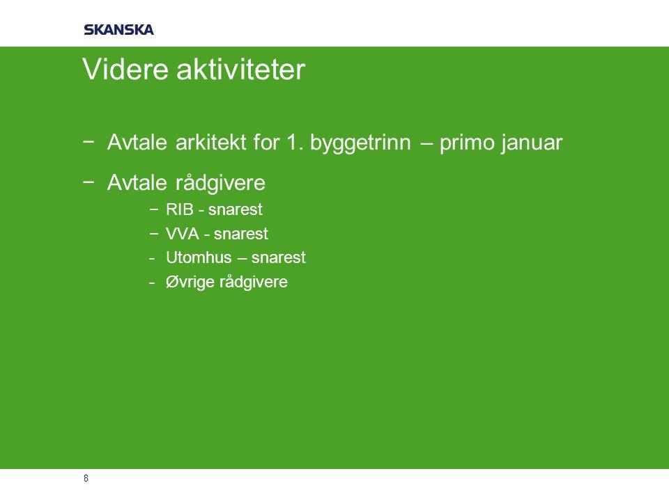 9 Ranheimsfjæra – Ambisjoner og målsetting −MARKED −Forhåndsmarkedsføring – redaksjonell omtale, mediastrat.