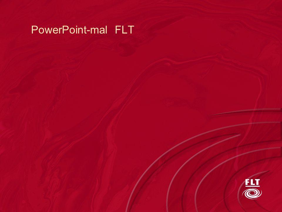 PowerPoint-mal FLT