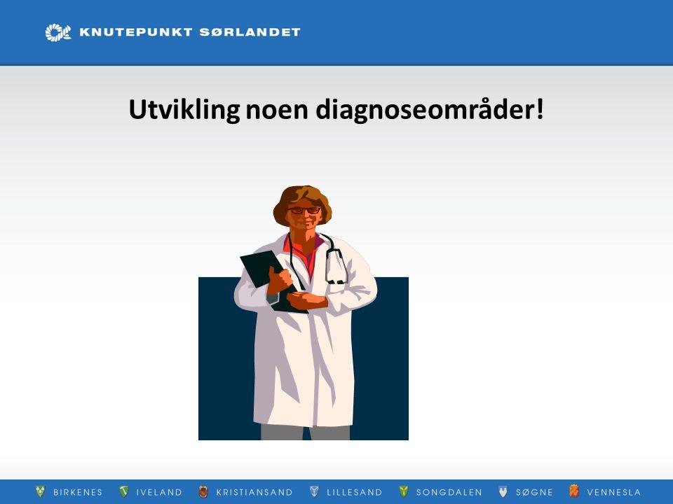 Utvikling noen diagnoseområder!
