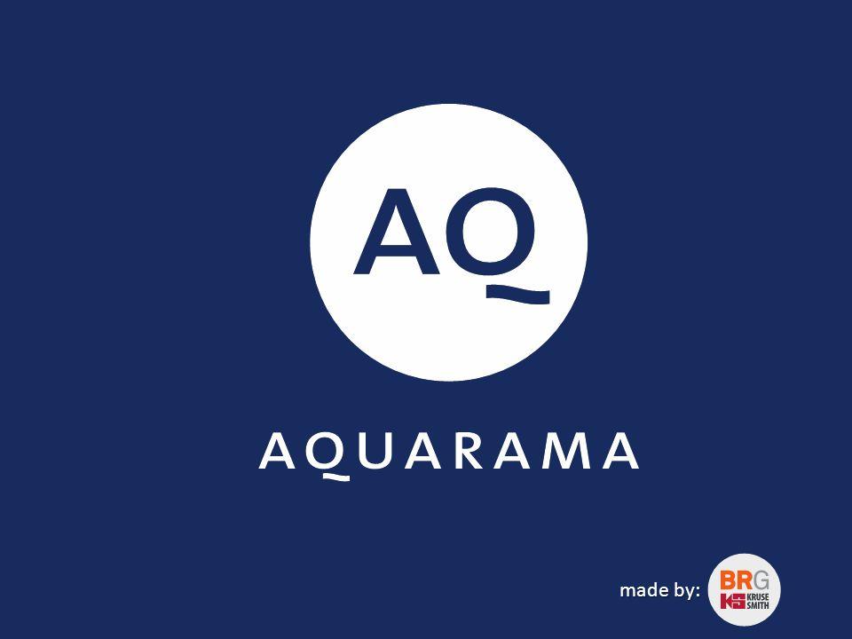 Aquarama er en aktivitetsarena for helse og opplevelse.