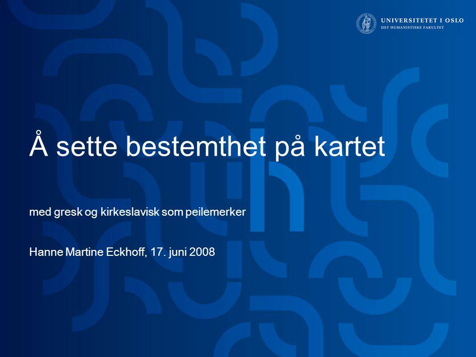 22 > Institutt for filosofi, ide- og kunsthistorie og klassiske språk (IFIKK) Takk!