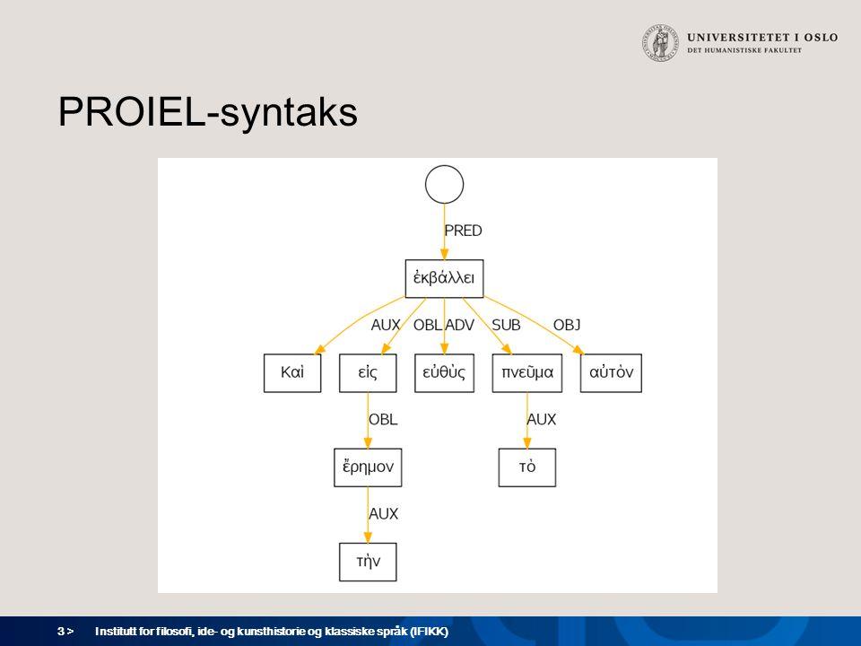 14 > Institutt for filosofi, ide- og kunsthistorie og klassiske språk (IFIKK) Kategoriserende AK2 (4) vъ odeždachъ ovčiichъ i klær-lok.pl.
