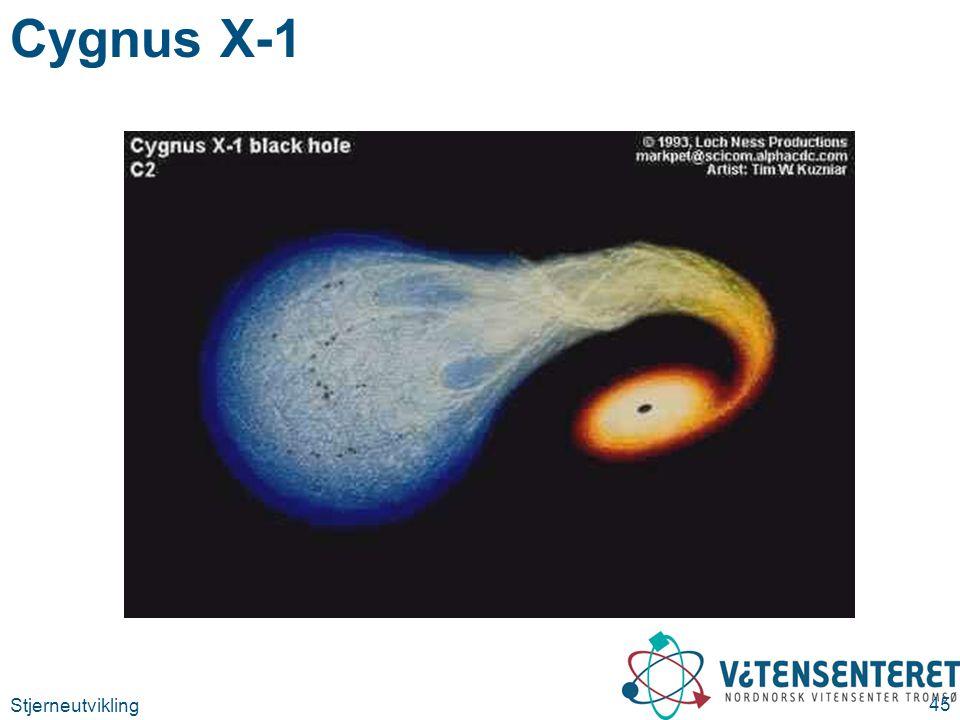 Stjerneutvikling 45 Cygnus X-1